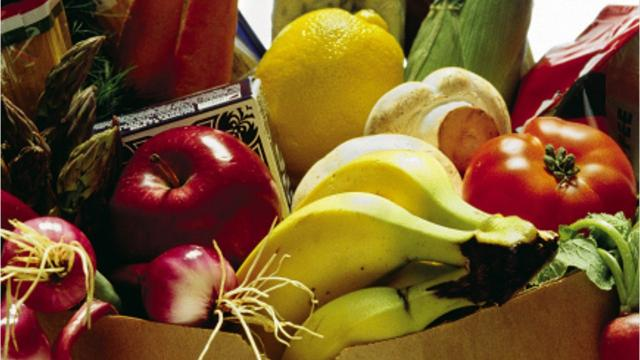 """Looking to donate to a food pantry? Consider the """"Food Drive Five"""" five healthy items as suggested by the University of Wisconsin-Extension of Brown County."""