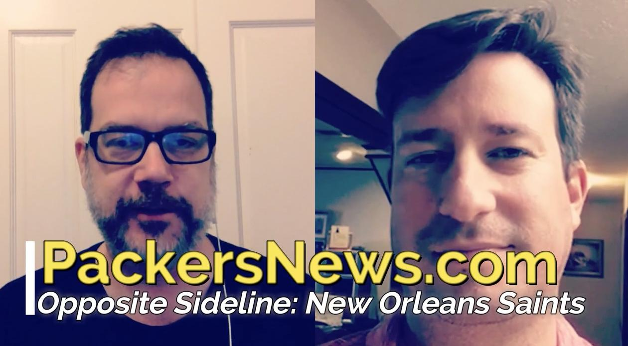 Aaron Nagler speaks with Larry Holder of the Times-Picayune to get the latest on the Green Bay Packers' opponent on Sunday, the New Orleans Saints.