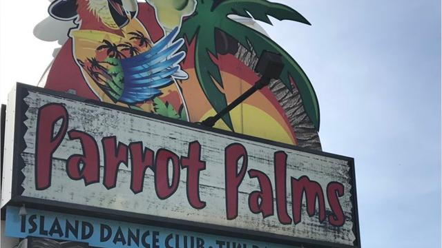 The former Parrot Palms is up for tax sale.