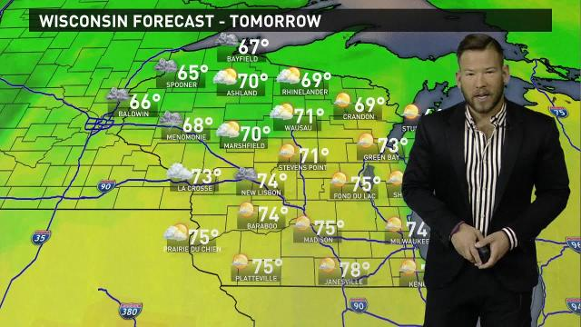 Wisconsin weather forecast for Friday, Oct. 20