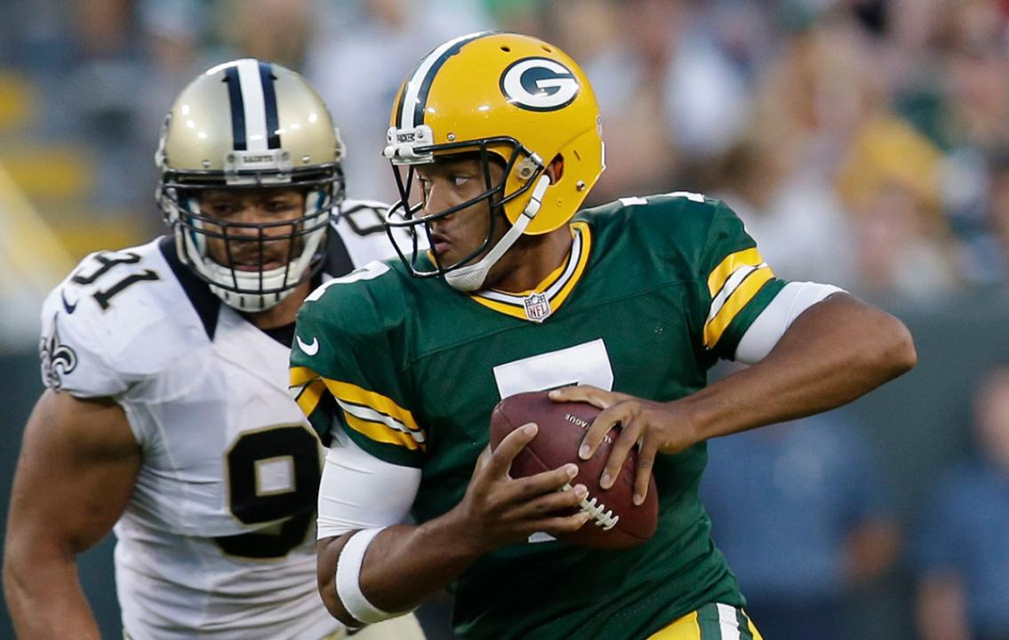 The guys give their predictions for Sunday's showdown between the New Orleans Saints and the Green Bay Packers.