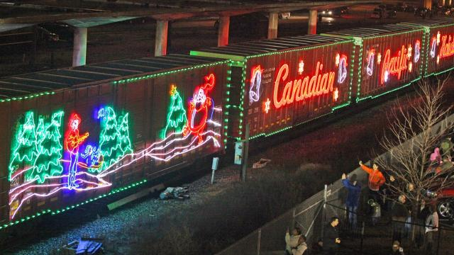The 2017 CP Holiday Train will travel through Wisconsin Dec. 2-4.
