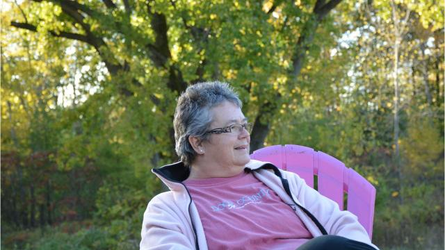 Becky Gosser of Sturgeon Bay was diagnosed with breast cancer twice. Door County loved ones helped her through