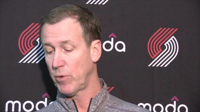 Terry Stotts on the Bucks' new arena