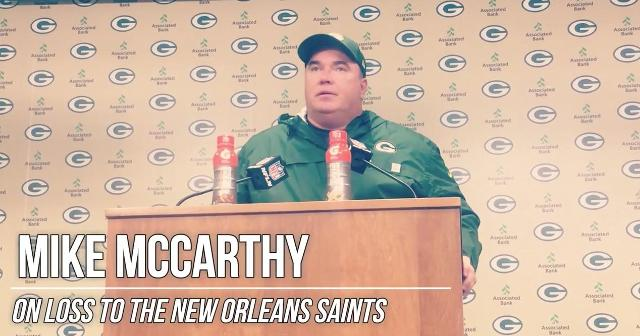McCarthy 'disgusted with the second half'