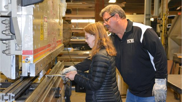 First of annual tours for high school students and community members to spread awareness about jobs and careers in Door County.