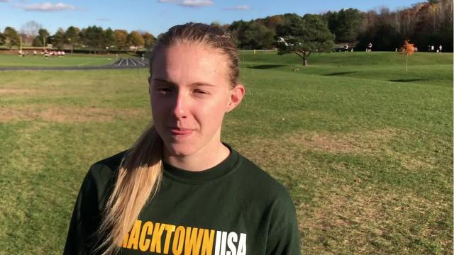 Iola-Scandinavia senior Erika Kisting will compete at the WIAA Division 3 state meet all four years of high school when she closes out her cross country career at The Ridges Golf Course in Wisconsin Rapids on Saturday.