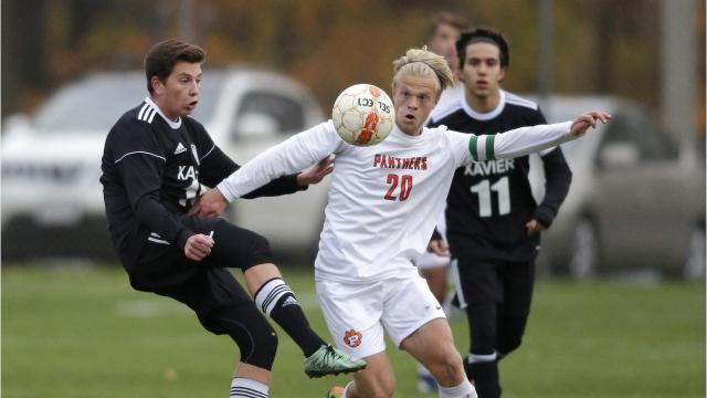 Plymouth scored two goals in the first half to earn a 2-0 shutout over Xavier