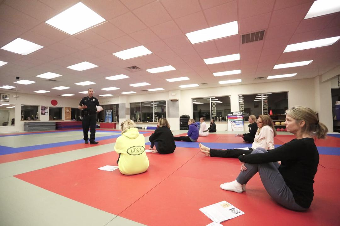 Women in the Fond du Lac area received a lesson in self-defense training.