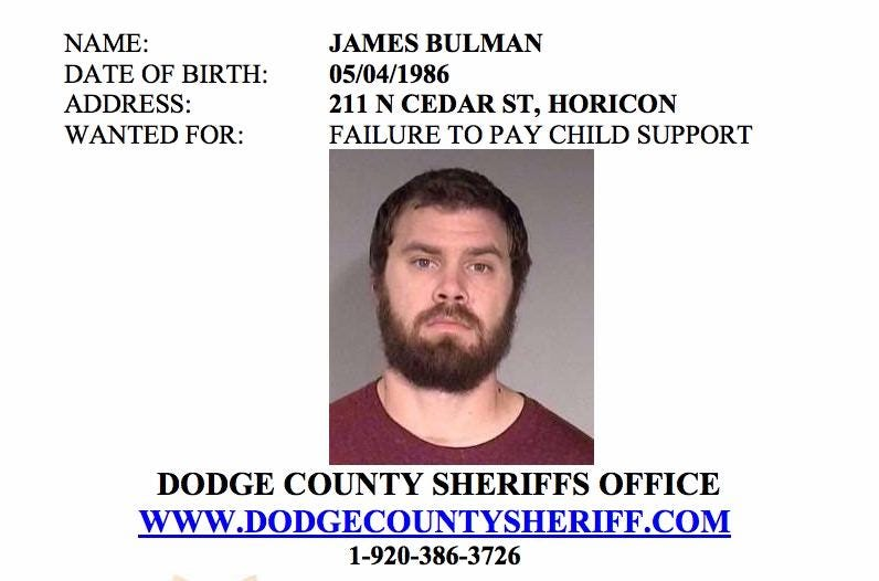 Contact the Dodge County Sheriff's Department if you know the whereabouts of any of these people.