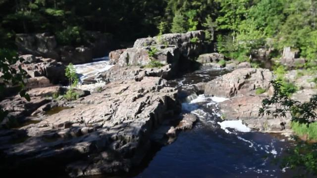 This picturesque park in Marathon County features a gorge with rocks rising up 40 feet above the Eau Claire River.