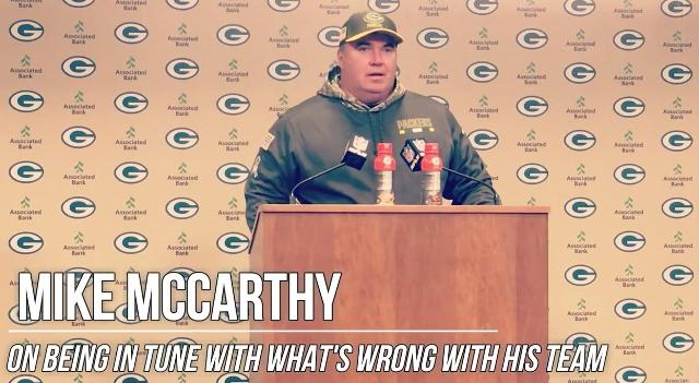 McCarthy on being in tune with struggling team