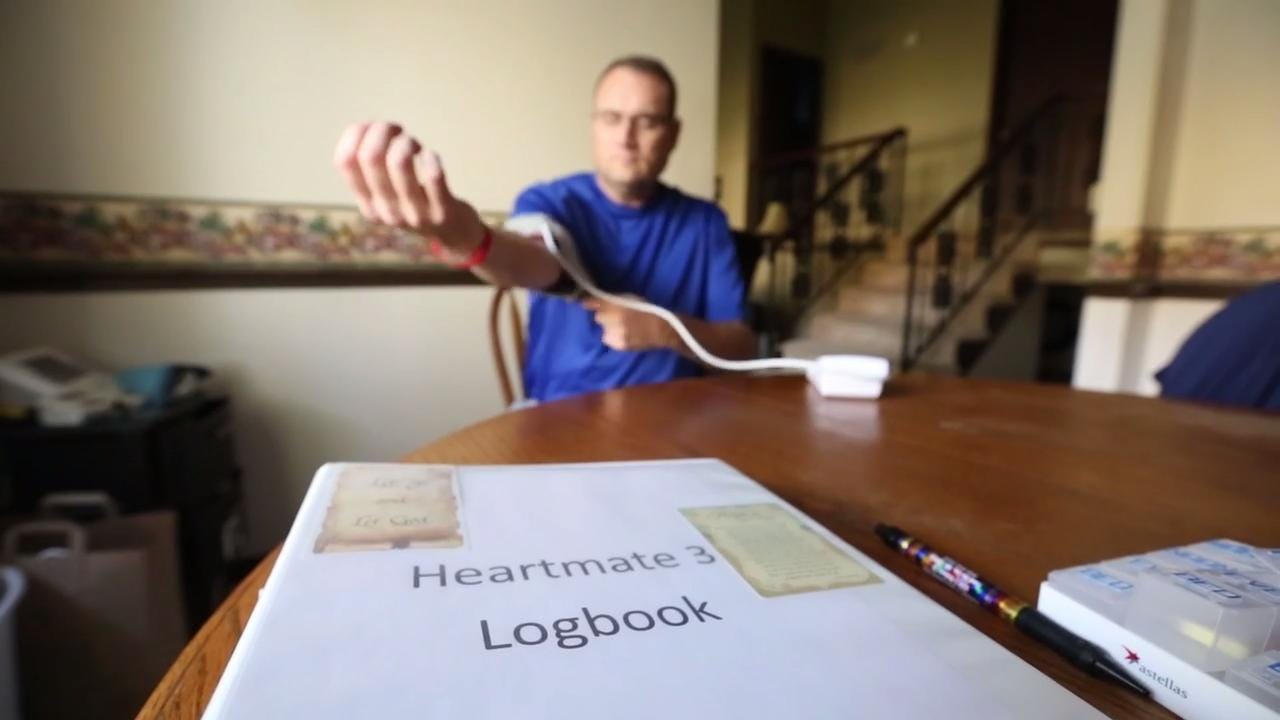 Fond du Lac's Rick Gilgenbach Jr. is getting back his life three weeks after a heart transplant.