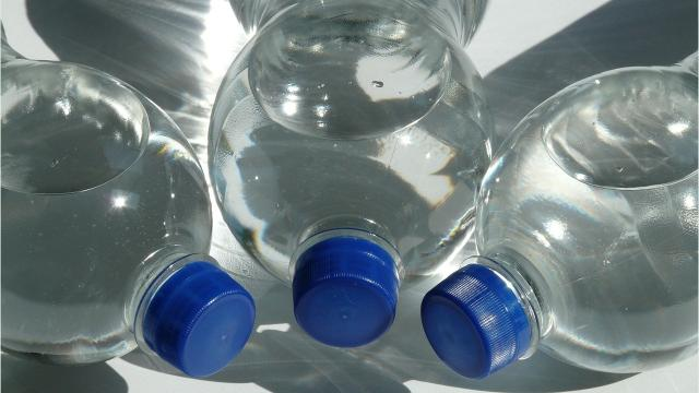 Facts about plastic bottle use and recycling.