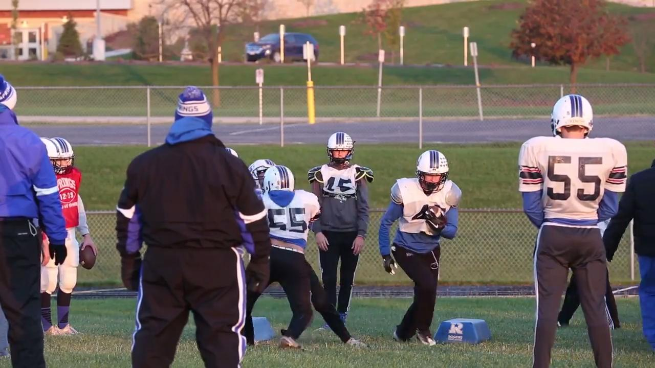 The St. Mary's Springs football team have one more game to win to return to state.