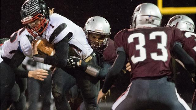 The veteran quarterback/linebacker has helped the Falcons reach the WIAA state semifinals for a second straight year.