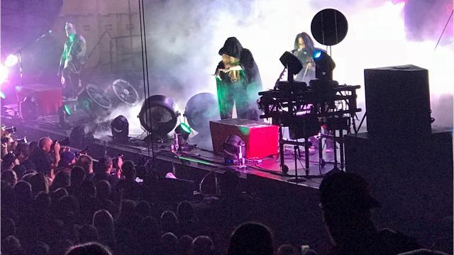 A crowd of 4,016 turned out to catch In This Moment and Hollywood Undead at Brown County Veterans Memorial Arena on Nov. 11, which just happened to be the venue's 59th birthday. It was a perfect night for some concert nostalgia.
