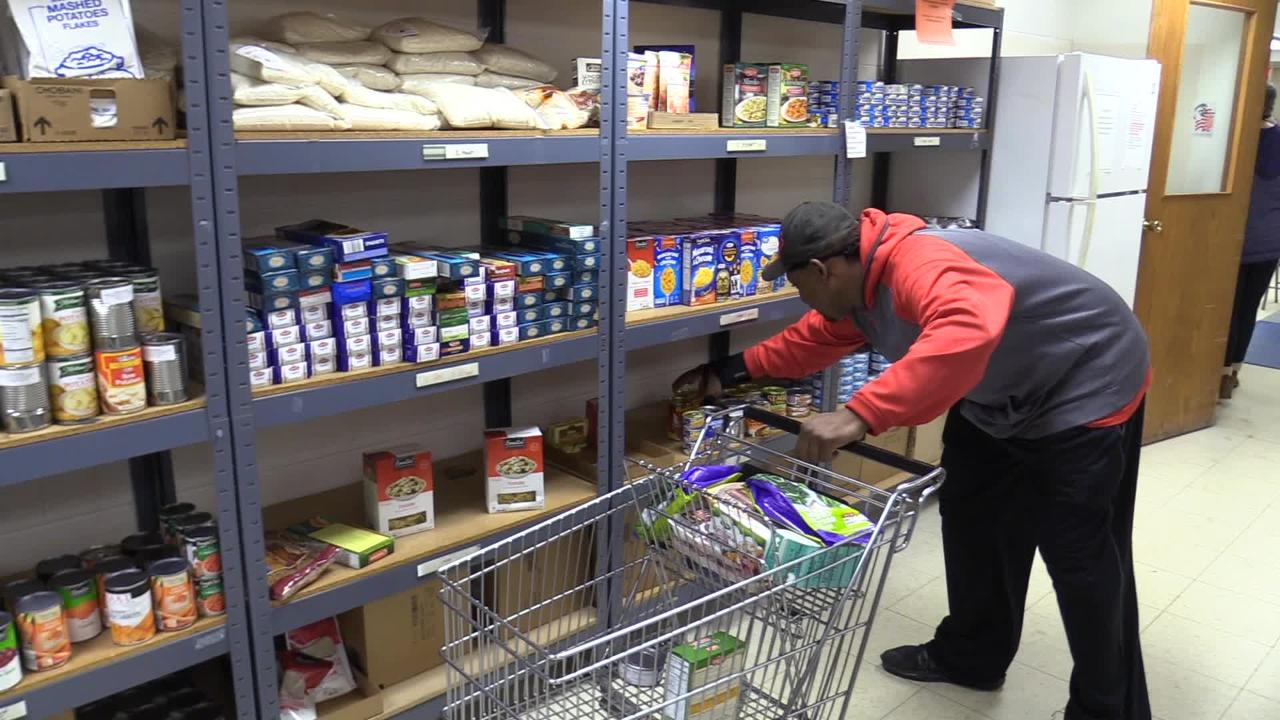 The Salvation Army helps many people that come into their food pantry.  The volunteers are key players in helping serve those that are in need.