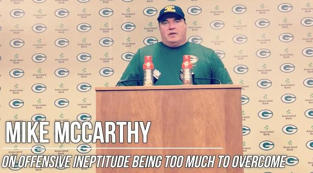 Video: Mike McCarthy news conference