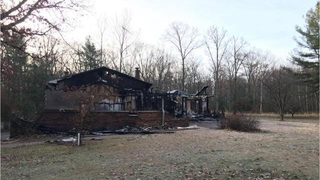 The Matthews family lost their home November 3 in a fire. They are now expressing gratitude to their community for supporting them in their time of need.