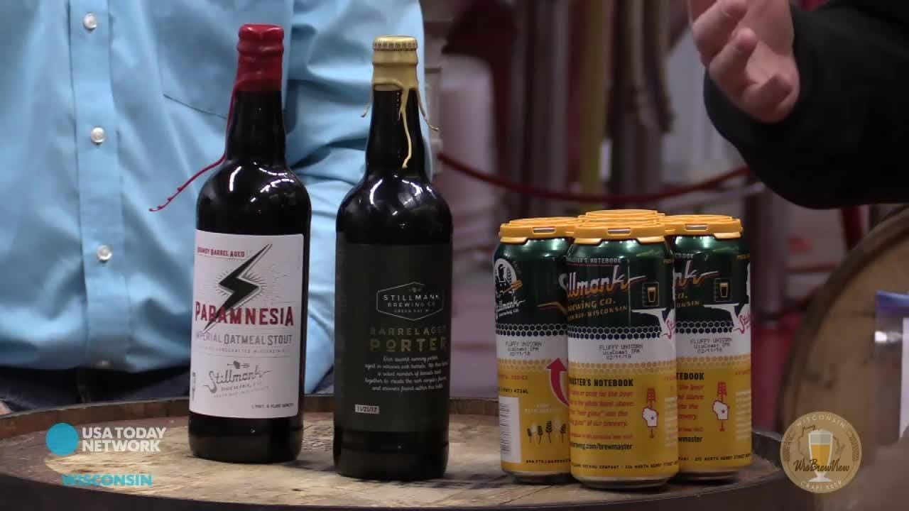 Dan Higgins talks with Brad Stillmank of Stillmank Brewing about the specialty beers they are releasing on Black Friday.