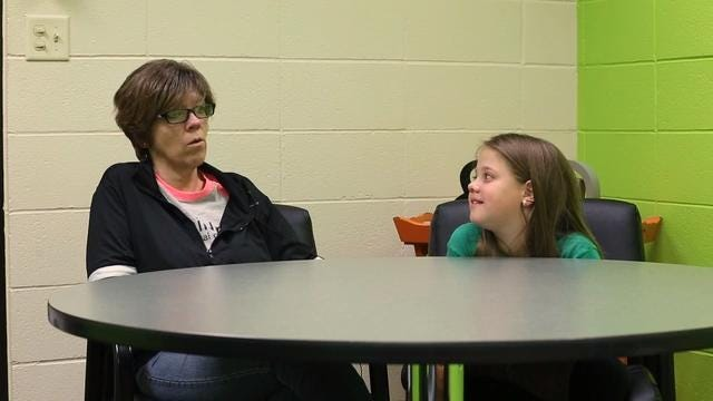 Natasha Fuller is 9 years old. In 2016, Jodi Schmidt, a teacher at her school, gave her a kidney. One year later, Natasha and her grandmother Chris Burleton talk about the ways their lives have changed for the better.