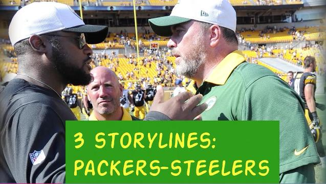 3 Storylines: Packers at Steelers