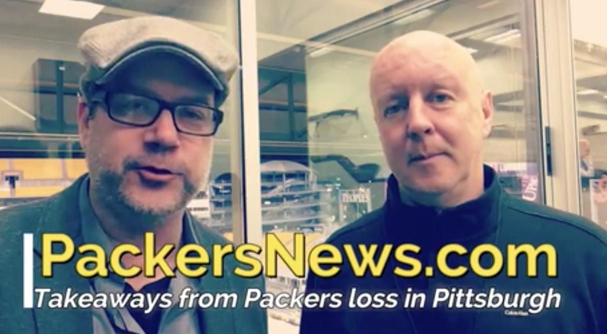 Pete Dougherty and Aaron Nagler discuss the Green Bay Packers' loss to the Pittsburgh Steelers and what it means going forward.