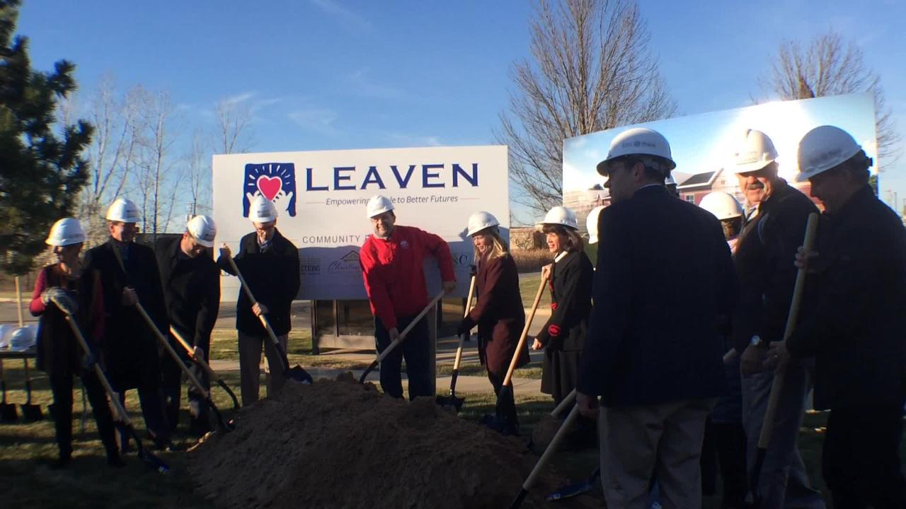 LEAVEN in Menasha breaks ground on a renovation and expansion meant to better serve its clients by centralizing services.