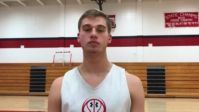 AJ Firminhac is part of a talented senior class at Pacelli looking to contend for a championship in the newly formed Central Wisconsin Conference-South Division this season.