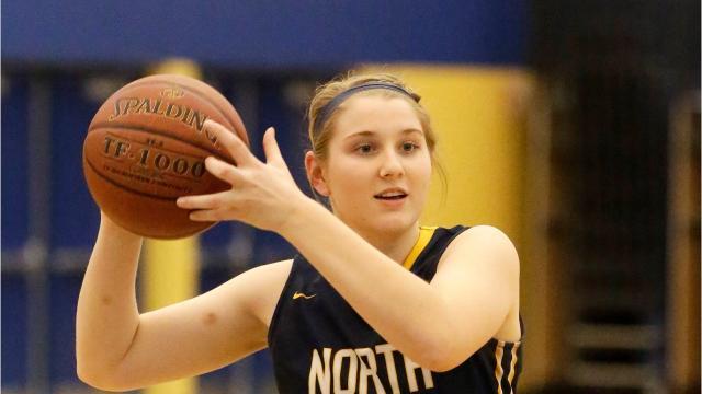 Senior Spotlight Q&A video with Sheboygan North girls basketball player Mariah Platz.