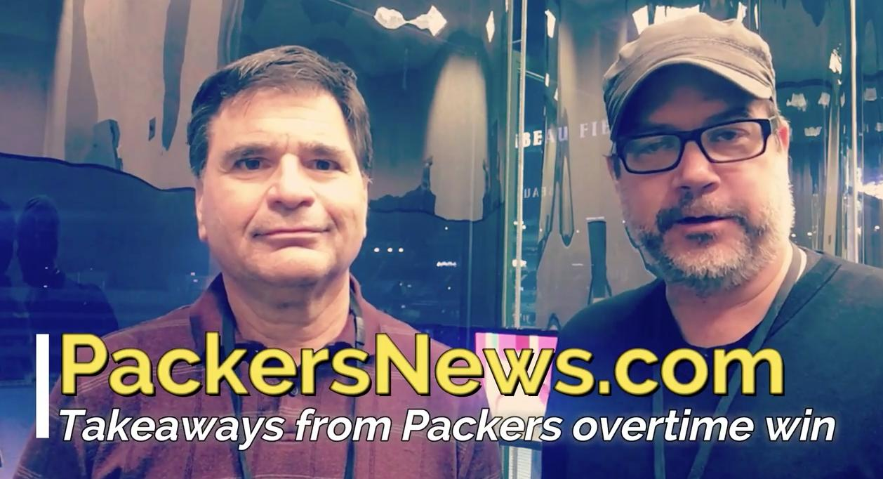Tom Silverstein and Aaron Nagler discuss the Packers victory over the Tampa Bay Buccaneers and what it means heading into next week's game against the winless Cleveland Browns.