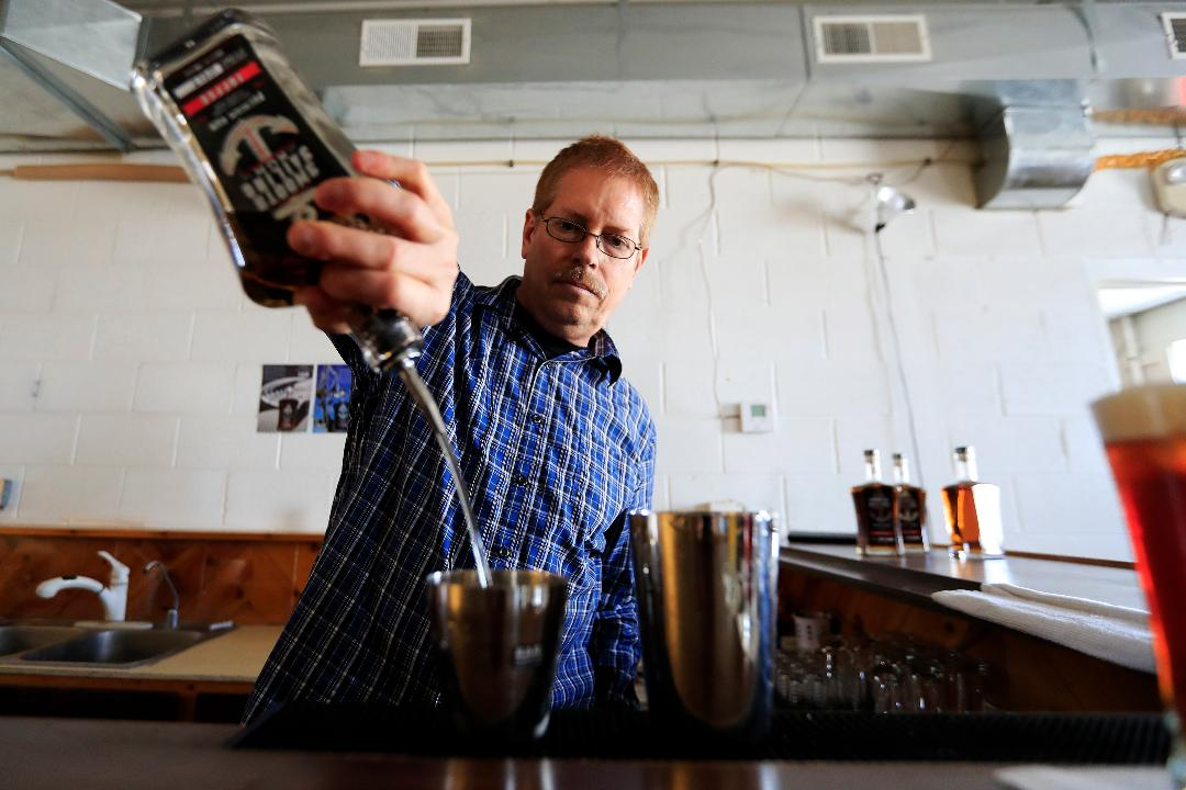 Curt Naegeli, owner of North Woods Distillery talks about his one-man distilling operation in Coleman, Wis.
