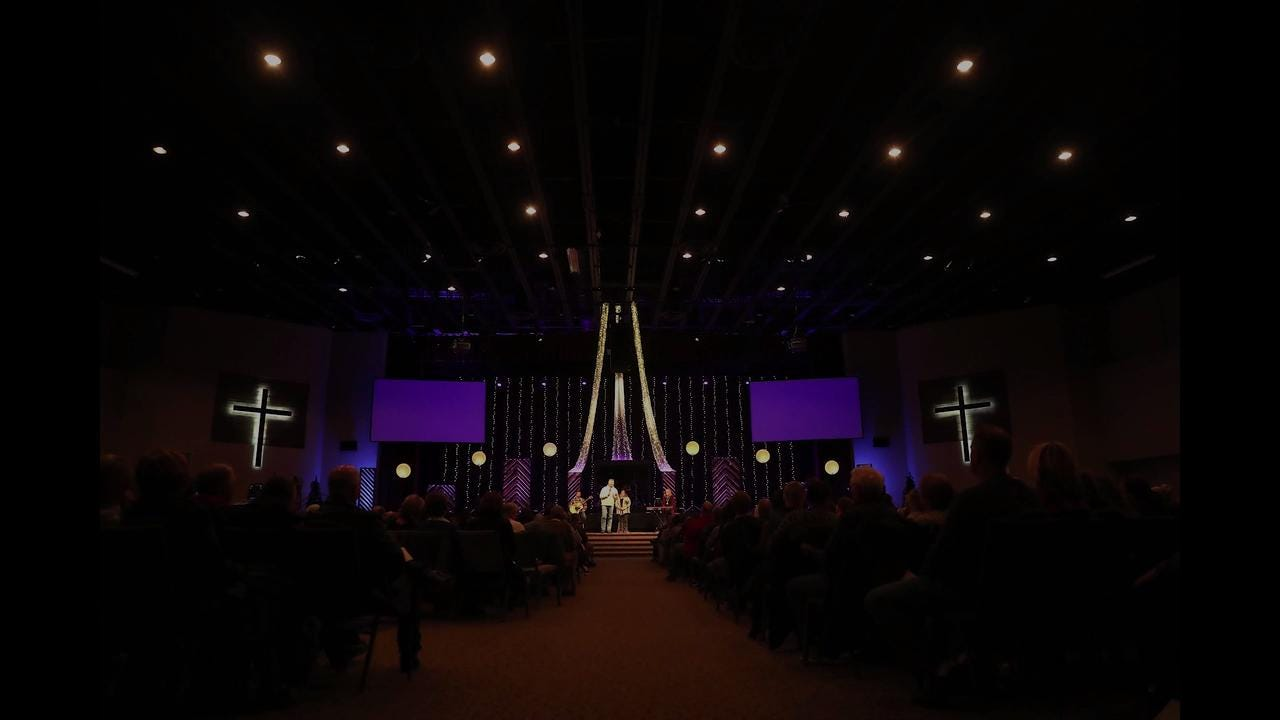 Christ the Rock Community Church gathered Wednesday following the death of founder and senior pastor Bill Lenz earlier in the week.