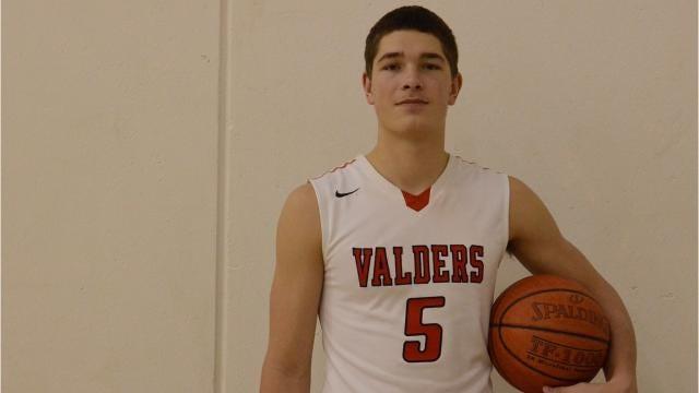 Senior Spotlight Q&A with Valders boys basketball player Kyle Tuma