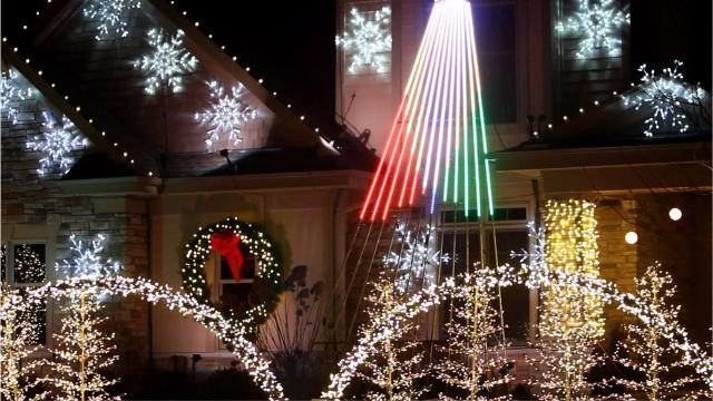 Among the thousands of homes and yards decorated for Christmas, we're featuring three computer-driven displays synced to music in the Milwaukee's suburbs.