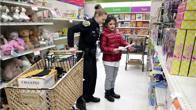 Nearly 200 children from across Brown County participated in the 23rd annual Shop with a Cop event Saturday. The event takes place at five county Shopko locations.
