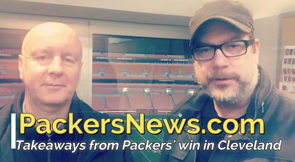Pete Dougherty and Aaron Nagler break down the Packers win in overtime against the Cleveland Browns and look forward to the possible return of Aaron Rodgers.