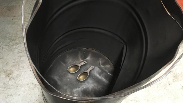 Dangerous barrels can be found on Craigslist