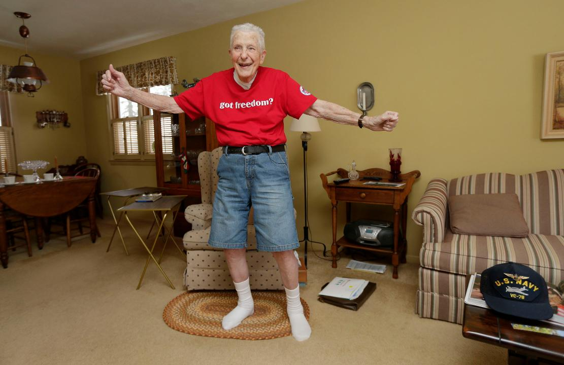 Video: Chuck Franzke, the dancing World War II veteran