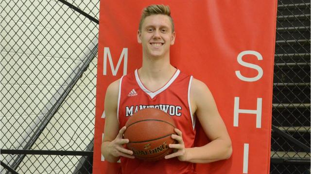 Senior Spotlight Q&A video with Manitowoc Lincoln boys basketball player Brayden Broecker.