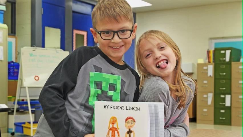 Video: 8-year-old writes book about friend's cancer