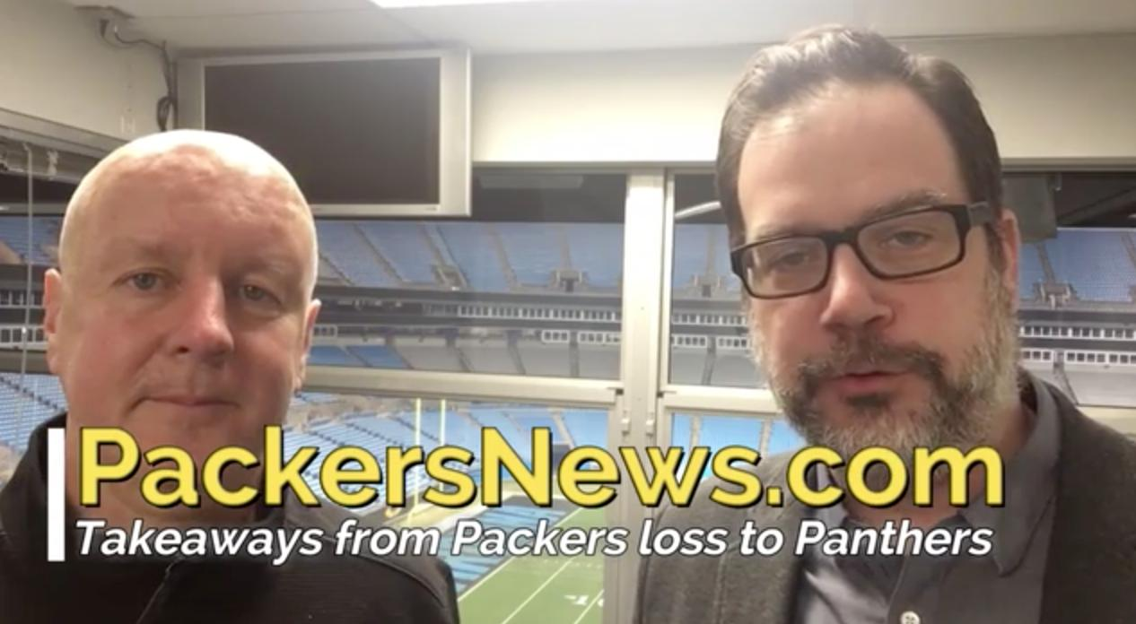 Pete Dougherty and Aaron Nagler look at the road ahead for Aaron Rodgers and the Packers after their loss to the Panthers in Carolina.