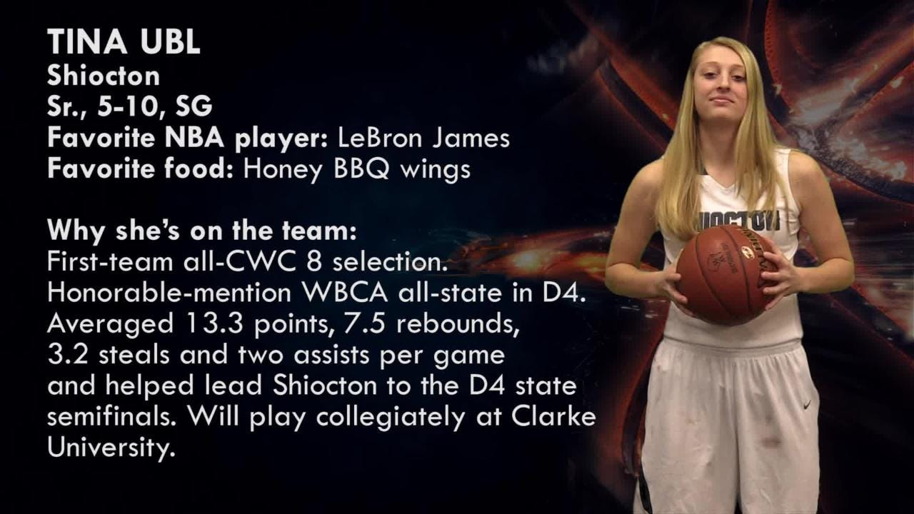 Shiocton's Tina Ubl is one of the top players to watch in the Post-Crescent coverage area.