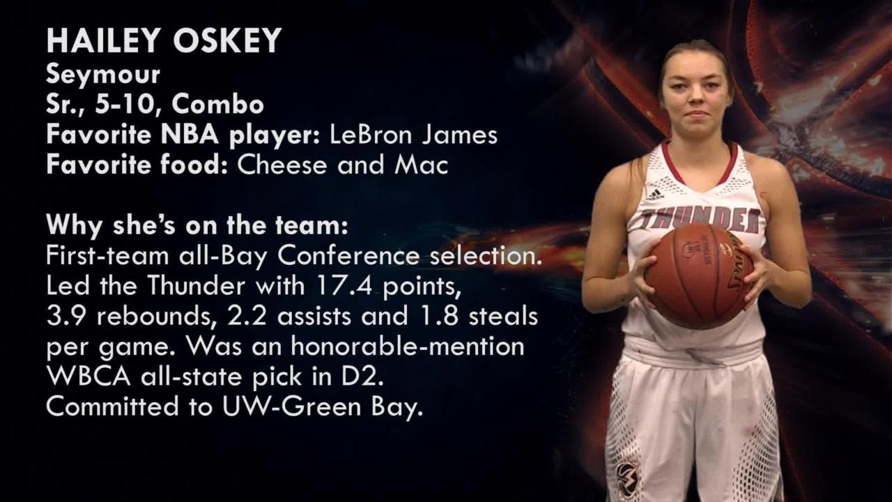 Seymour's Hailey Oskey is one of the top players to watch in the Post-Crescent coverage area.