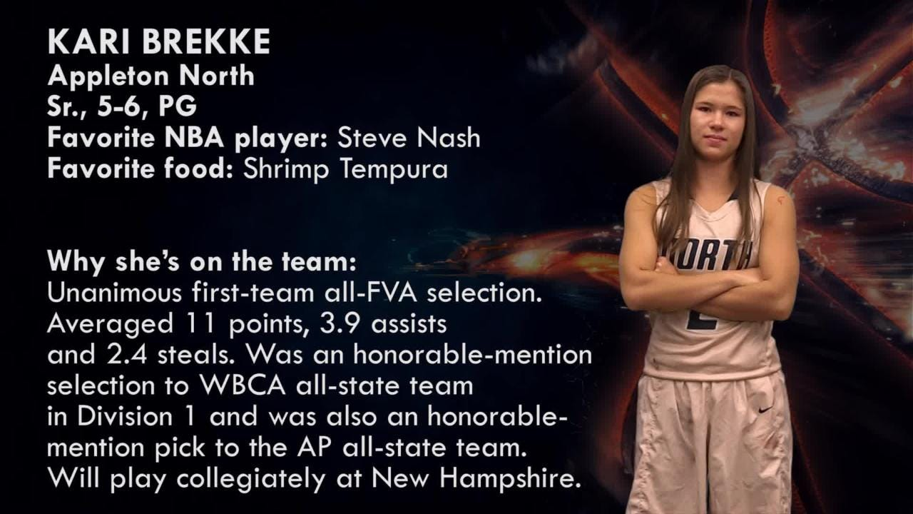 Appleton North's Kari Brekke is one of the top players to watch in the Post-Crescent coverage area.