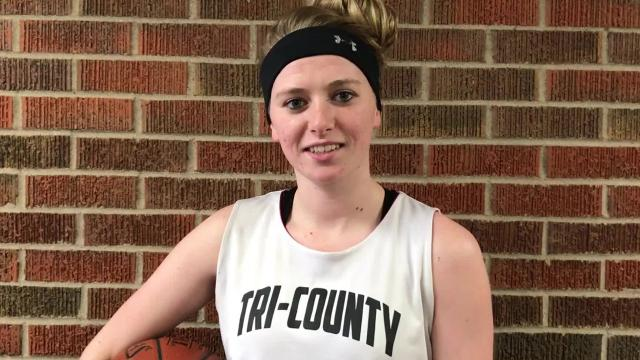 Tri-County senior standout Amber Baehman is the reigning two-time player of the Year in the Central Wisconsin Conference-10. She hopes to cap off her spectacular high school basketball career with a trip to the WIAA state tournament in Green Bay.
