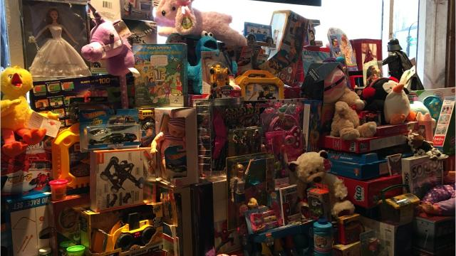 MidWest Tattoers and Brothers by Choice partner each year for a toy drive to help needy families have presents for their children at Christmas. MidWest Tattoers owner Tommy Kirschbaum has seen a tremendous response for his toy drive this holiday season