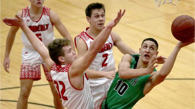 Top-ranked Oshkosh North defeated No. 5 Kimberly 65-59 in a Fox Valley Association game in Kimberly on Friday, Dec. 22.