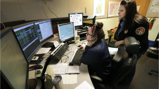 It's an issue facing dispatch centers across the country.